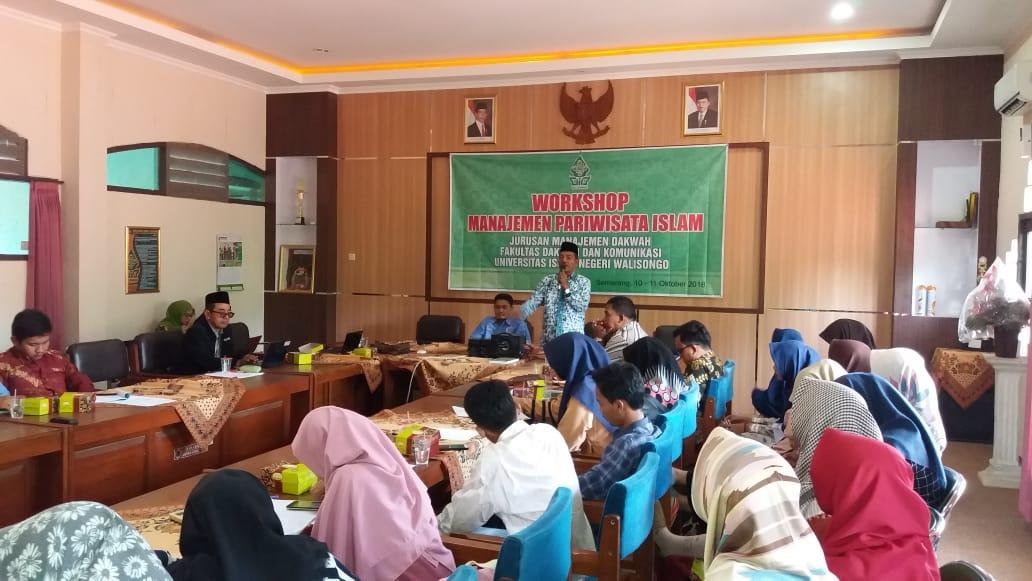 Workshop Manajemen Pariwisata Islam